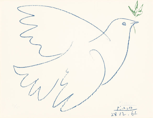 , 'Dove of Peace,' 1949, New River Fine Art