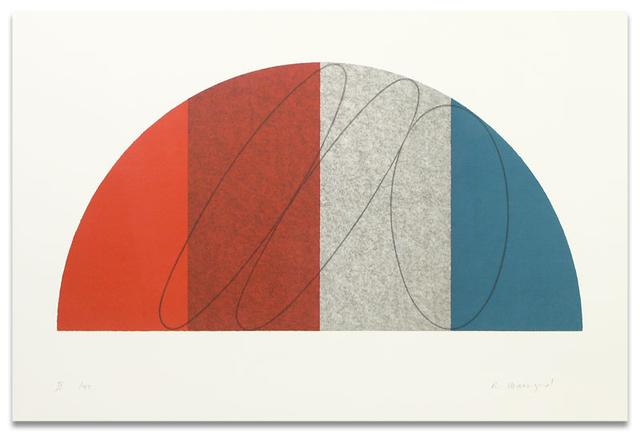 Robert Mangold, 'Semi-Circle II', 1995, Upsilon Gallery