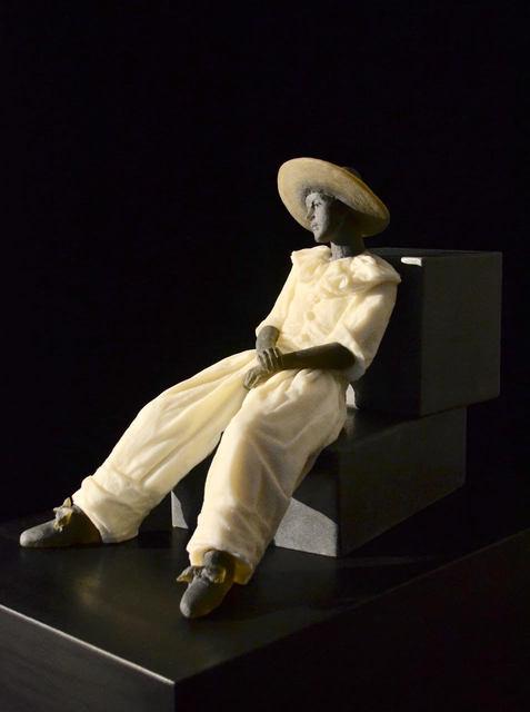 , 'Garbo Figure (figure on two cubes),' 2018, Weinstein Hammons Gallery