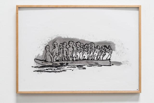, 'Man Boat,' 2014, Rosamund Felsen Gallery