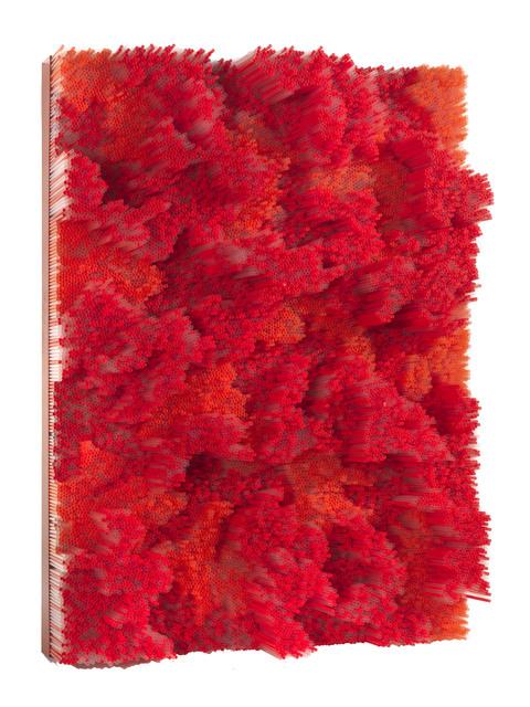 , 'Red straws,' 2014, Tornabuoni Arte