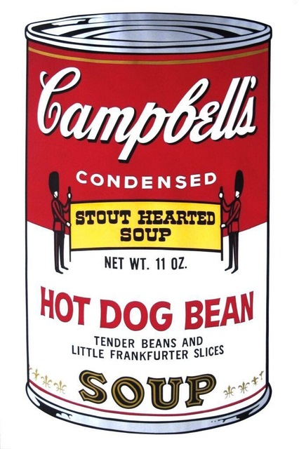 Andy Warhol, 'Hot Dog Bean Soup', 1968, ArtLife Gallery