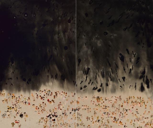 , 'Sky falls 幕垂,' 2016, Art+ Shanghai Gallery
