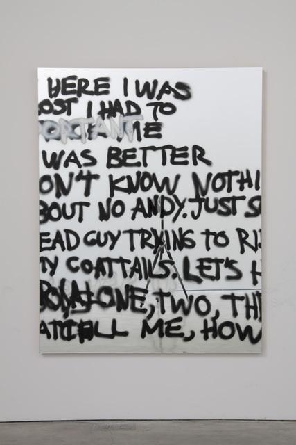 Stefan Brüggemann, 'Mirror 11', 2010, Painting, Spray paint on mirror, Parra & Romero