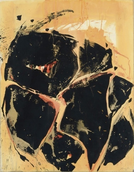 , 'Yellow-Orange-Black,' 1960, Louis Stern Fine Arts