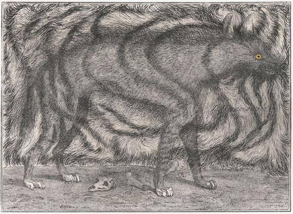 , 'Hyena,' 2008, London Print Studio