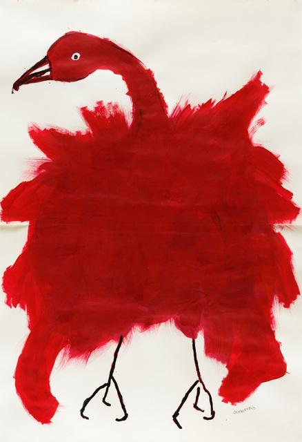 , 'Untitled (Red Bird),' 2018, Creativity Explored