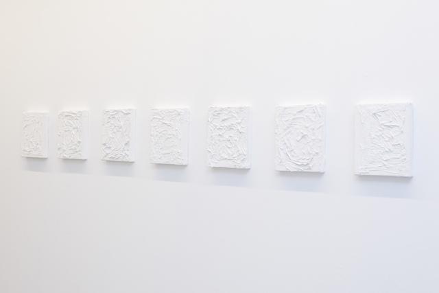 , 'Windows plaster on canvas,' 2018, Vernissage