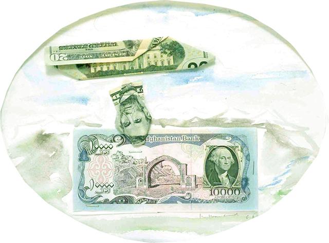 , '20/ 10,000 Afghan Exchange,' 2005, Rosamund Felsen Gallery