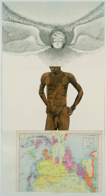 Matvey Levenstein, Anton Kannemeyer, and Lisa Oppenheim, 'Exquisite Corpse 125,' ca. 2011, Mana Contemporary