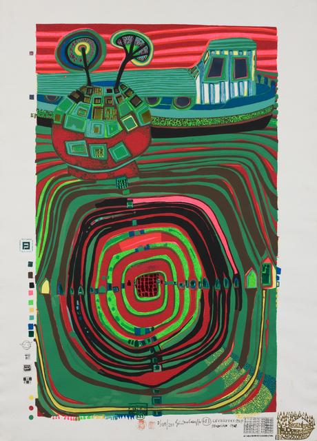 , 'La Barca-Regentag (Slow Travel Under the Sun),' 1969, Pucker Gallery