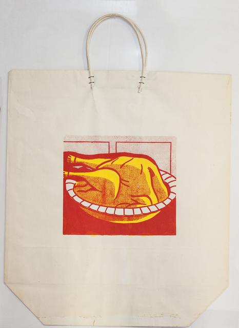 Roy Lichtenstein, 'Turkey Shopping Bag', 1964, Print, Serigraph, ArtWise