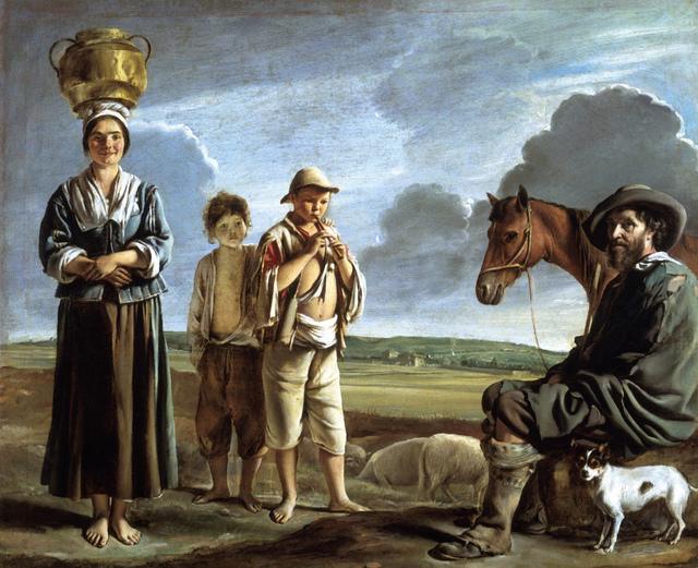 , 'The Resting Horseman,' ca. 1640, Legion of Honor