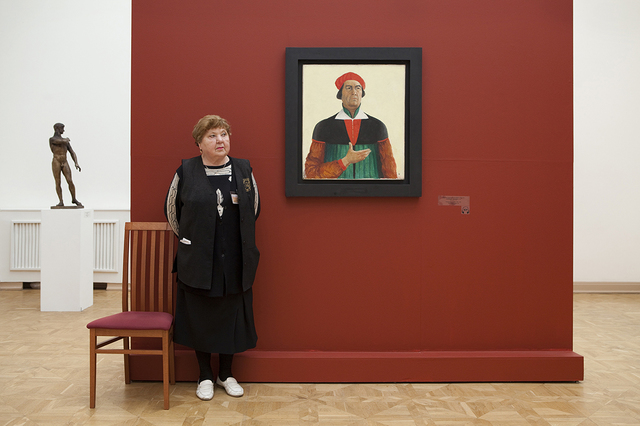 , 'Malevich's Self-Portrait, Russian State Museum,' 2009, Patricia Conde Galería
