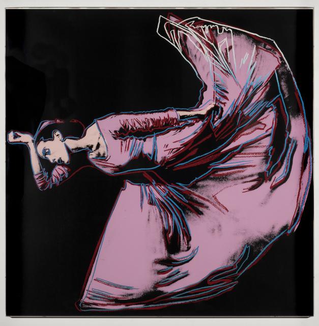 Andy Warhol, 'Martha Graham: Letter to the World (The Kick)', 1986, Leslie Sacks Gallery