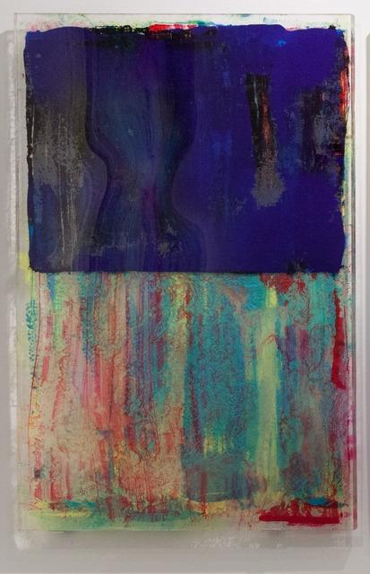 , 'Transferences GRANDE BLEU,' 2015, JanKossen Contemporary