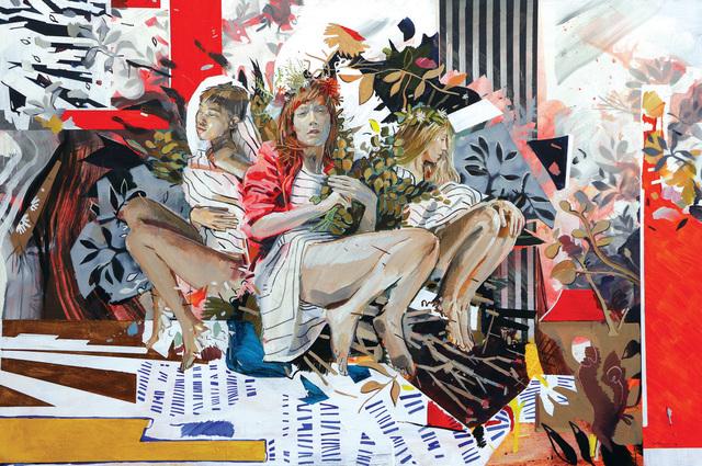 , 'Nymphs at the Water's Edge,' 2020, 99 Loop Gallery
