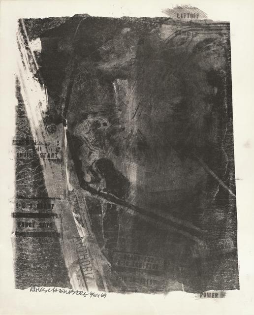 Robert Rauschenberg, 'Rack (Stoned Moon)', 1969, San Francisco Museum of Modern Art (SFMOMA)