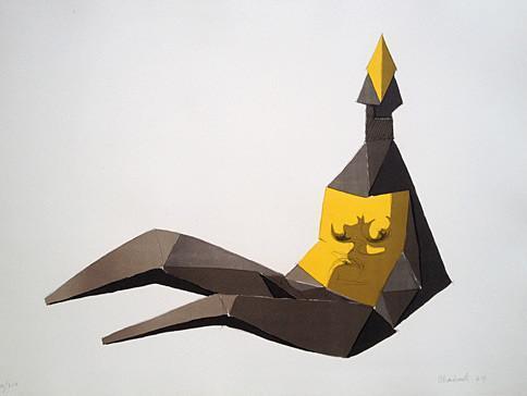 , 'Seated Elektra,' 1969, Pangolin