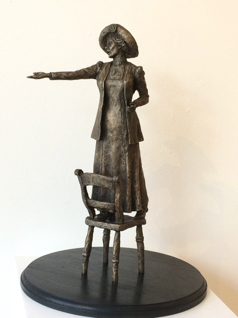 , 'Rise Up Women (Emmeline Pankhurst Maquette,' 2018, Gallery Different