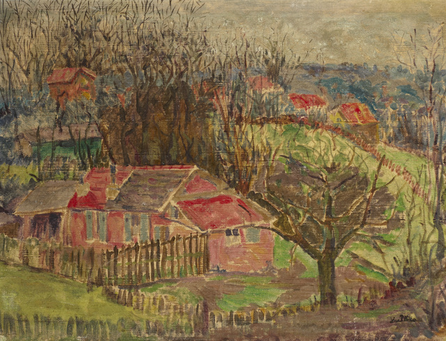 Lena Pillico, 'Cottages in the Country', 1932, Ben Uri Gallery and Museum