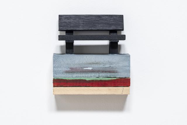 , 'Indigo Bench,' 2019, JGM Gallery