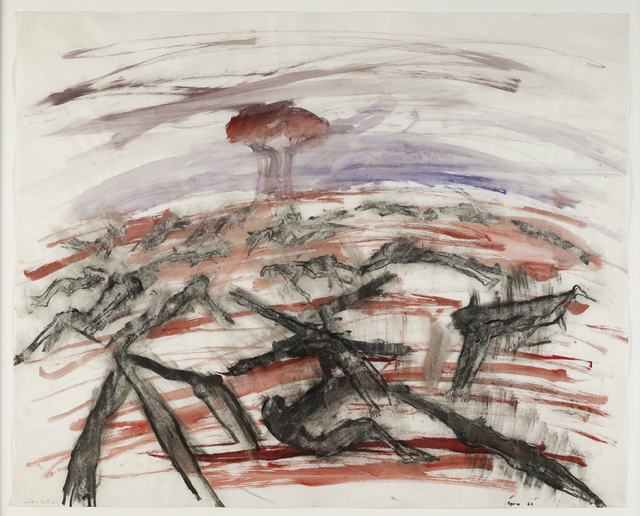 , 'Bomb and Victims,' 1967, Anthony Reynolds Gallery