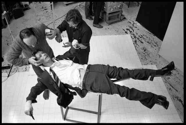 , 'David Bowie: Lodger Set Build,' 1979, ElliottHalls