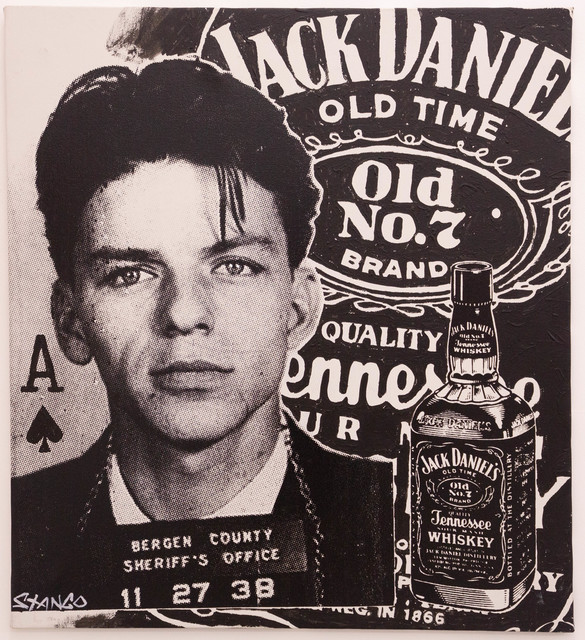 John Stango, 'Sinatra/Jack Daniels ', ca. 2018, The Compound Gallery