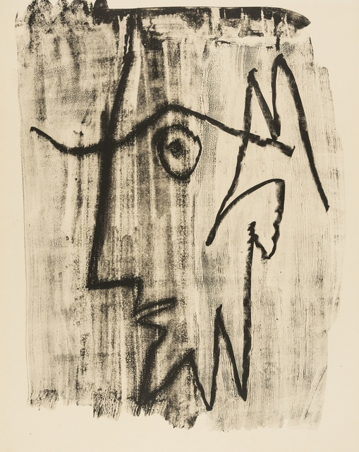 Pablo Picasso, 'Profile of Bearded Man Looking to the Left (Mourlot 397)', 1963, Forum Auctions