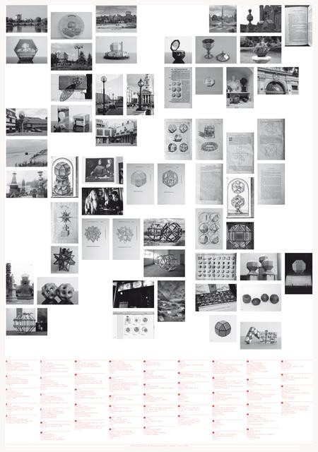 , 'Catalogue des Rhombis,' 2012, BISCHOFF/WEISS