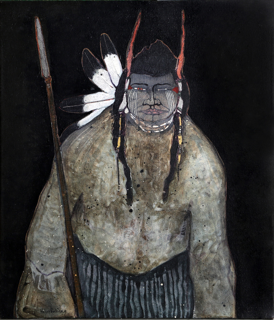 Kevin Red Star, 'Crow Indian with Spear', 1979, RoGallery