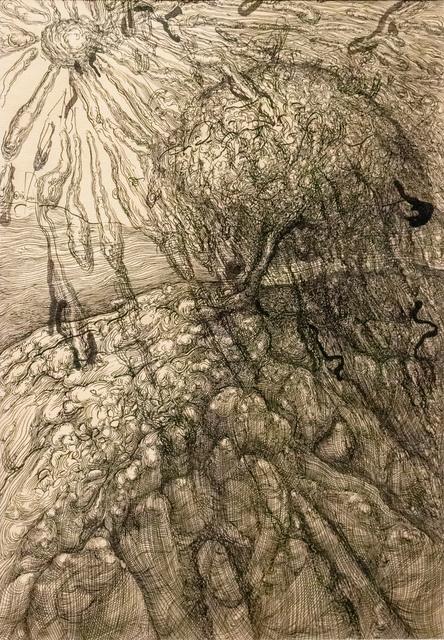 , 'Tree III 树 三,' 2010, Galerie Dumonteil