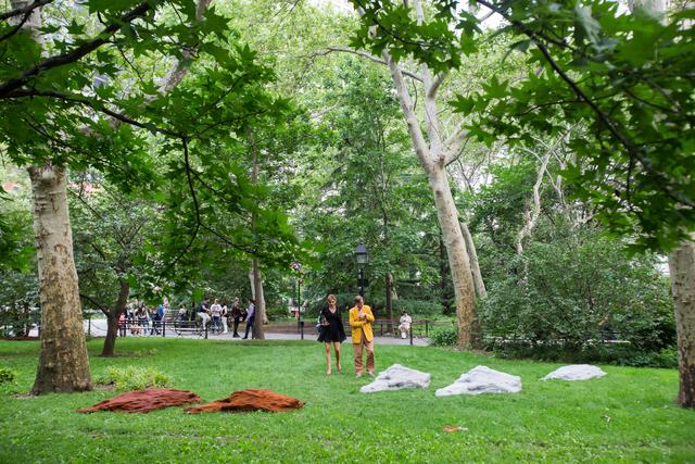 , 'R O C K F A L L,' 2015, Public Art Fund