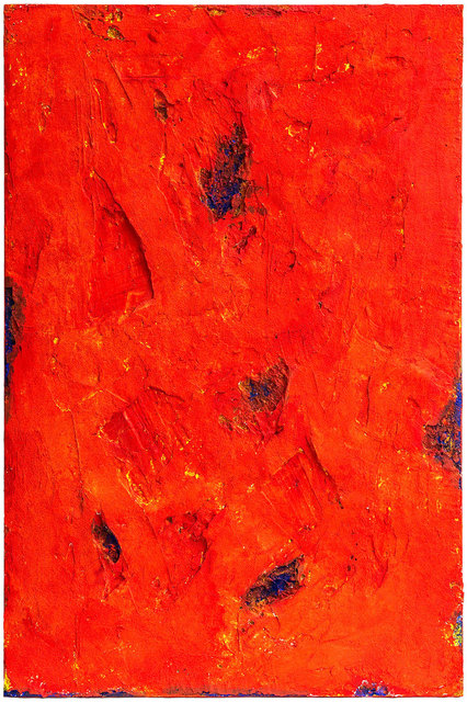 , 'Red End,' 2016, Contini Art UK