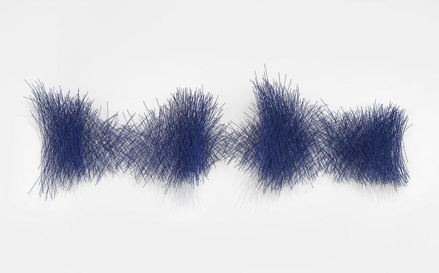 , 'Periwinkle Wall Cloud I,' 2018, De Buck Gallery