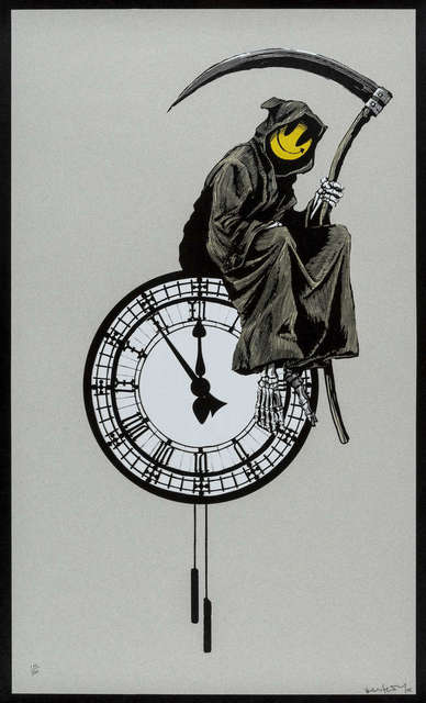 Banksy, 'Grin Reaper (Signed Untrimmed Artist Proof)', 2005, Prescription Art