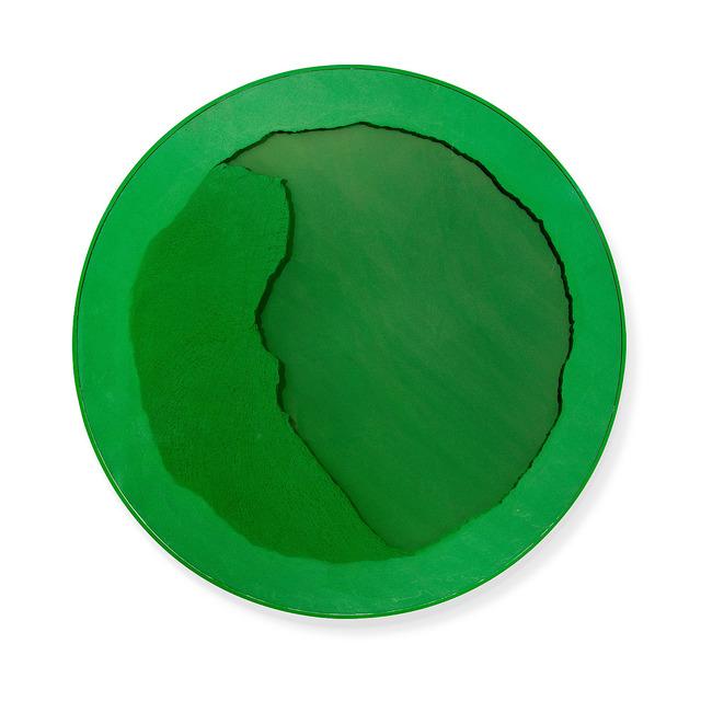 , 'Cercle vert olympique,' 2012, Espace Meyer Zafra