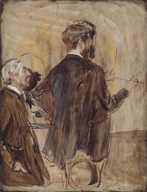 , 'Connoisseurs in an Artist's studio,' 1884-1885, Robilant + Voena