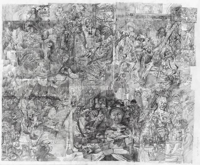 , 'Le grand alpha de la peinture 3,' 2016, Galeria Plan B