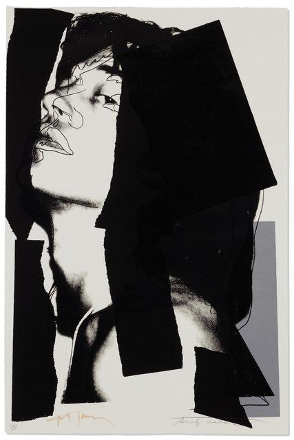 , 'Mick Jagger F&S II.144,' 1975, Fine Art Mia
