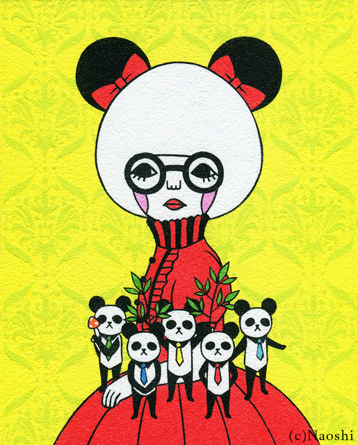 , 'Queen Panda,' 2017, Flower Pepper Gallery