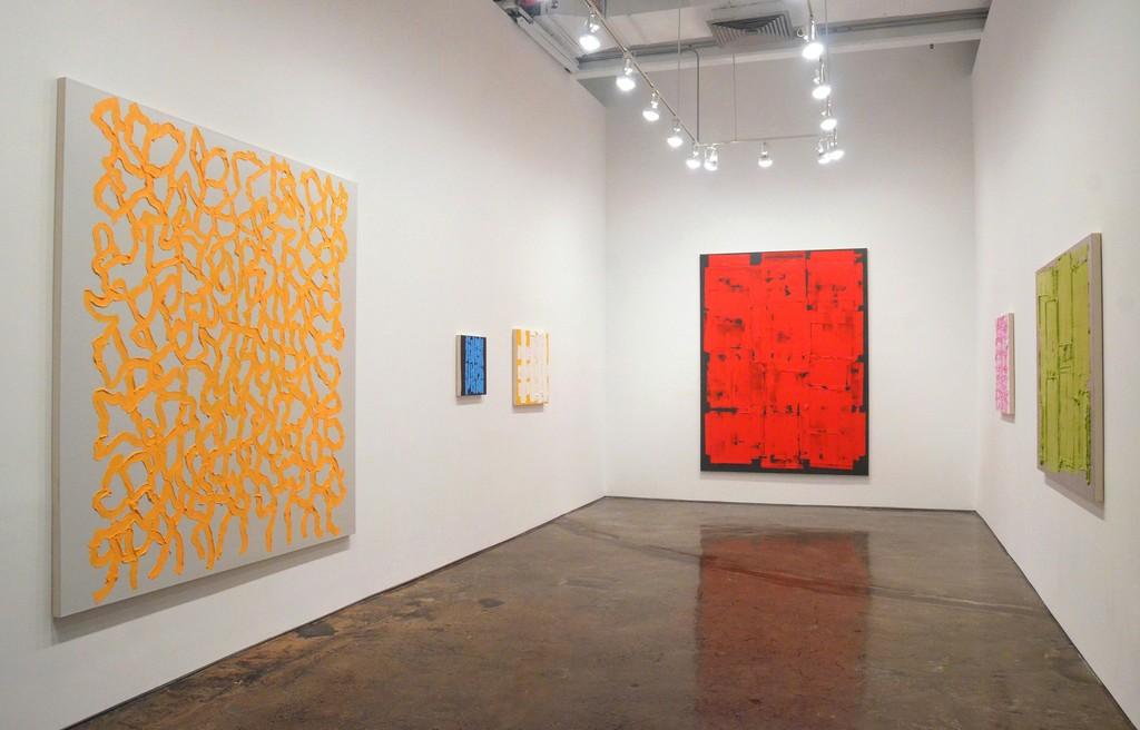 Installation view of John Zinsser: Oil Paintings, MINUS SPACE, 2018