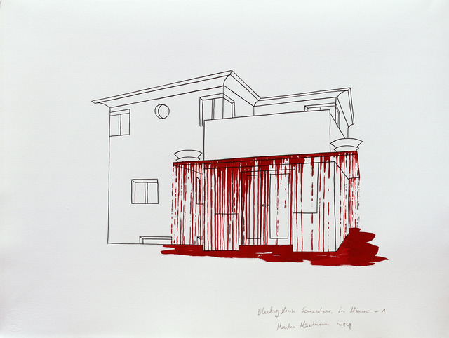 , 'Bleeding House Somewhere in Miami-1,' 2014, Temnikova & Kasela