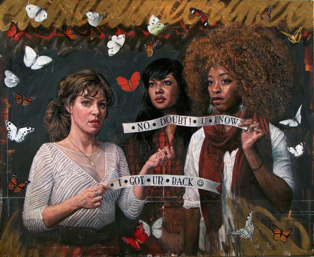 , 'I Got Ur Back,' 2017, Peter Robertson Gallery