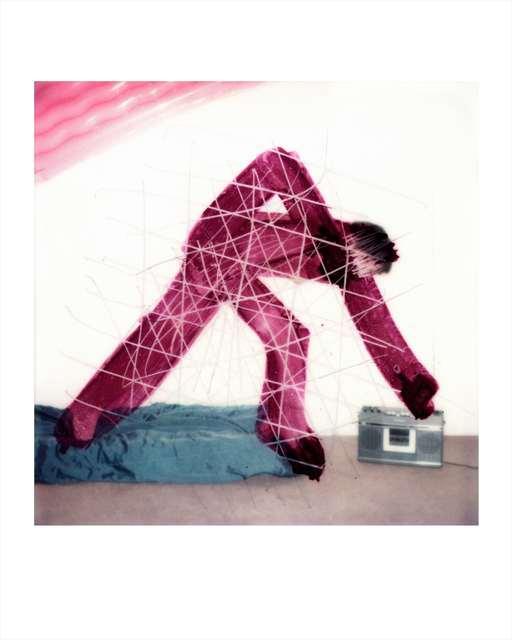 , 'BOOMBOX SCRATCH SX 70'S,' 1977, Jo Shane + Maripol