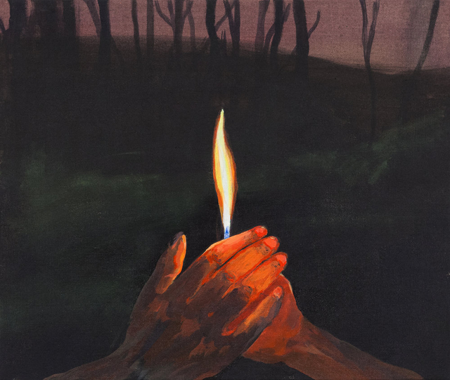 , 'Better to Burn Out Than Fade Away,' 2017, Charles Moffett