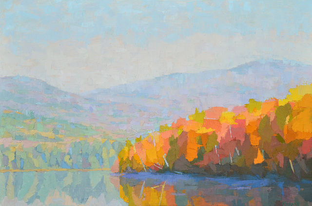 , 'Fringed in Autumn, Reflection Pond,' ca. 2016, L'Attitude Gallery