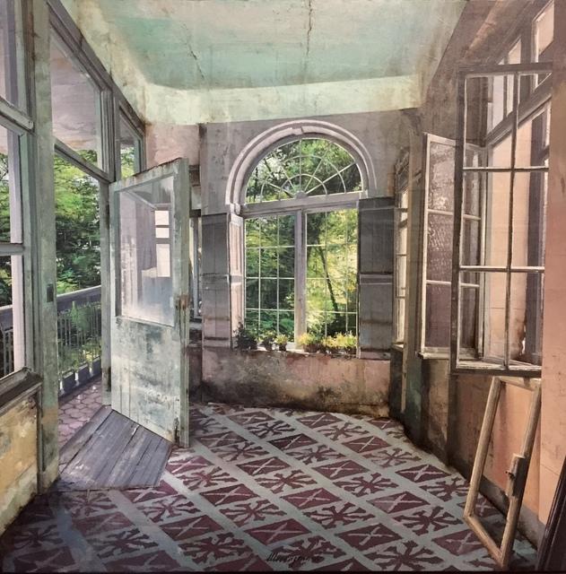 , 'La vetrata sul giardino,' 2017, Pontone Gallery