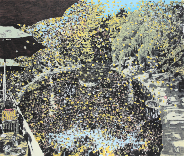 , 'Rhythm of Fall,' 2011, Donghwa Ode Gallery